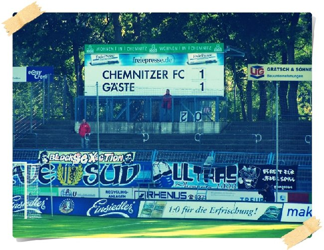 Chemnitzer FC - Hannover 96(A.) / 1:1 (0:1)